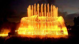 Konstruksi Kolam Air Mancur Menari