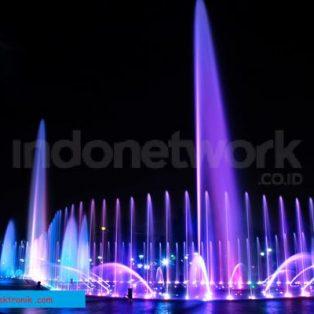 Pabrik Air Mancur Menari di Indonesia