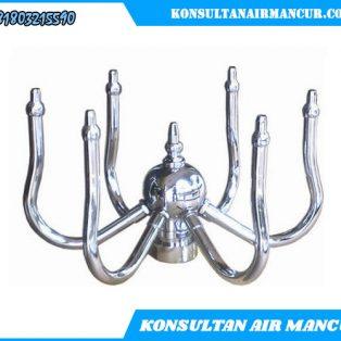 Nozzle Air Mancur Minimalis Rotating Fountain nozzle