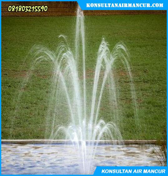 Hasil pengaplikasian nozzle di kolam renang