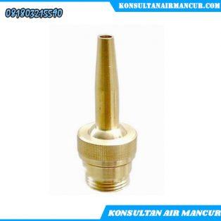 Jual nozzle air mancur Single shooting nozzle surabaya