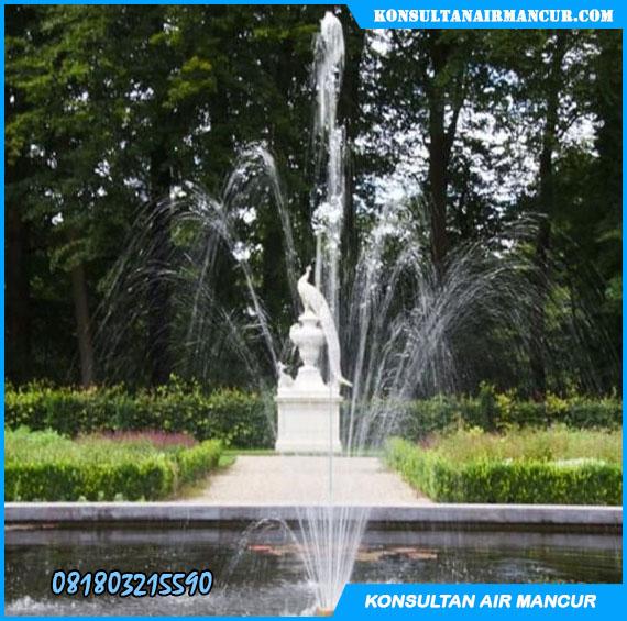 Nozzle air mancur fixed blossom murah saat digunakan dikolam