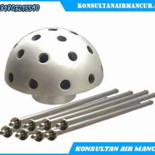 Nozzle air mancur hemishpere Crystal murah berkualitas