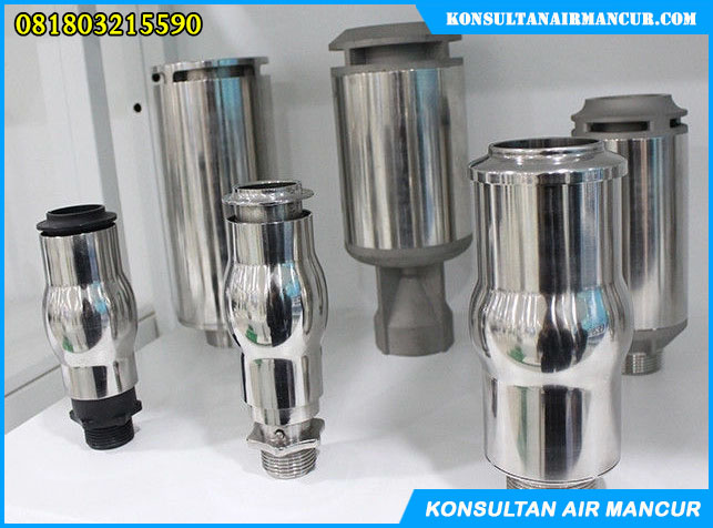 Nozzle air mancur murah frothy foam stainless steel