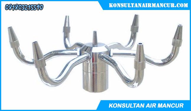 Spesfikasi Nozzle Air Mancur Pirouette Stainless steel berkualitas